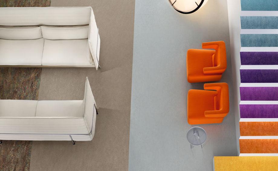 linoleum sch ne robuste naturb den f r besseres raumklima. Black Bedroom Furniture Sets. Home Design Ideas
