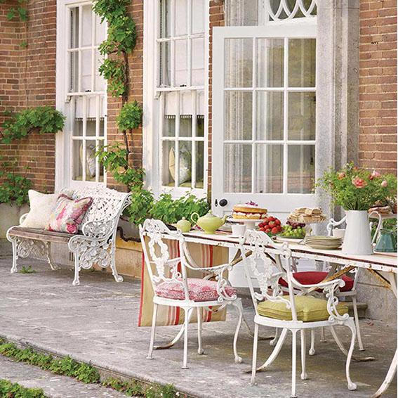 outdoorstoffe uni oder gemustert f r garten und balkon. Black Bedroom Furniture Sets. Home Design Ideas